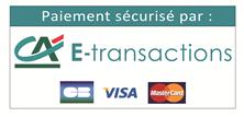 Paiement sécurisé par CA E-Transactions